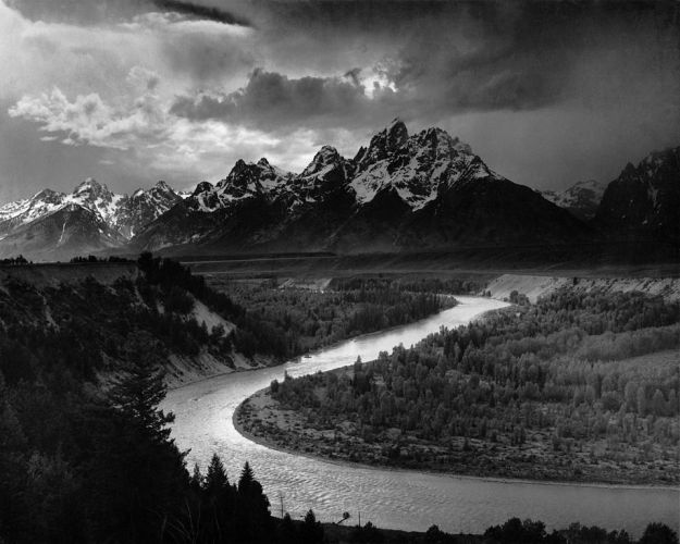 Ansel Adams The_Tetons_and_the_Snake_River