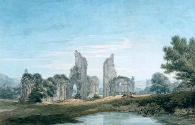 Thomas Herne Glastoburgh Abbey