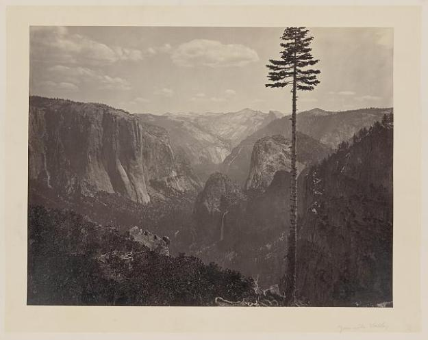 Caleton Watkins Best General View Yosemite Valley