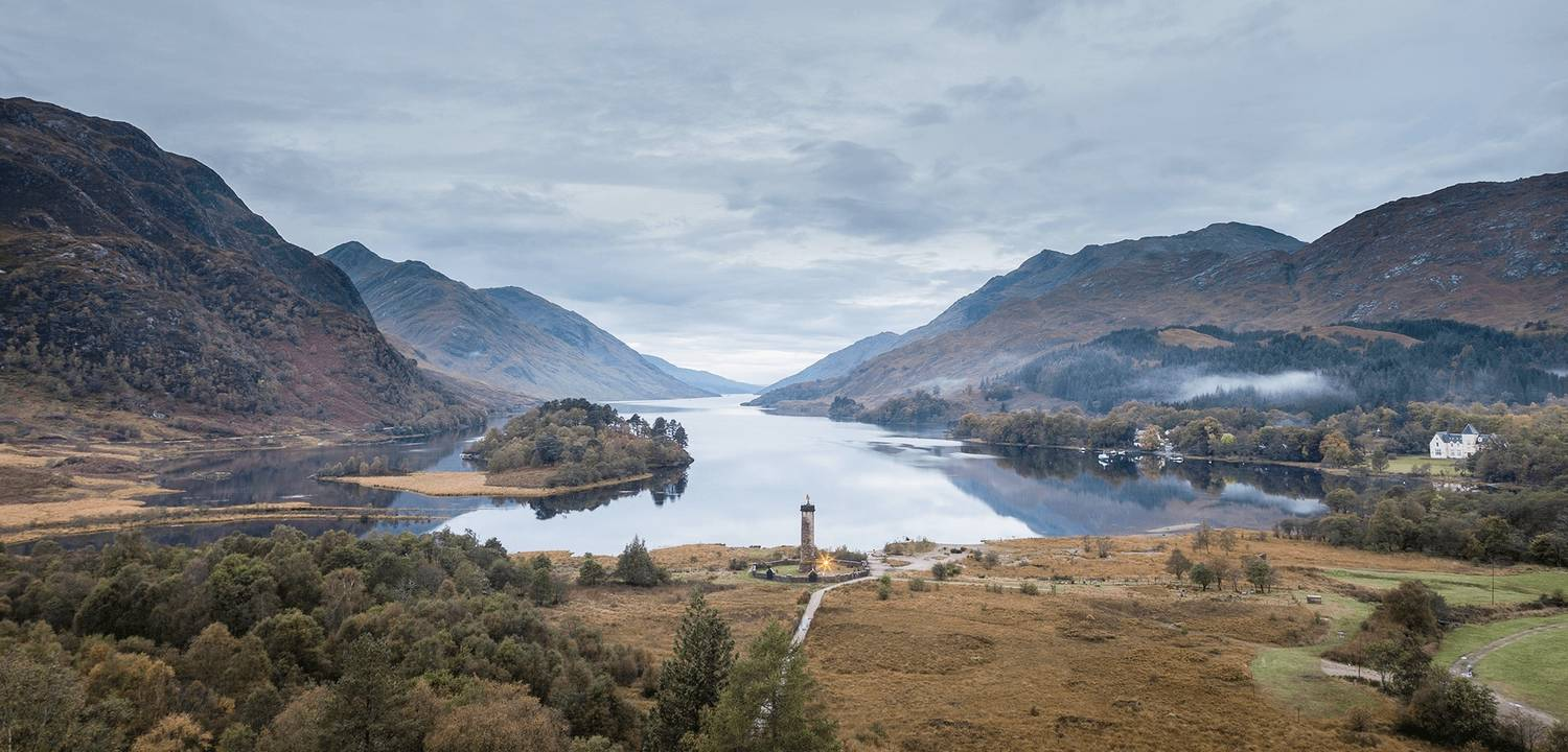 Landscape Advertising - Glenfinnan Monument - NTS