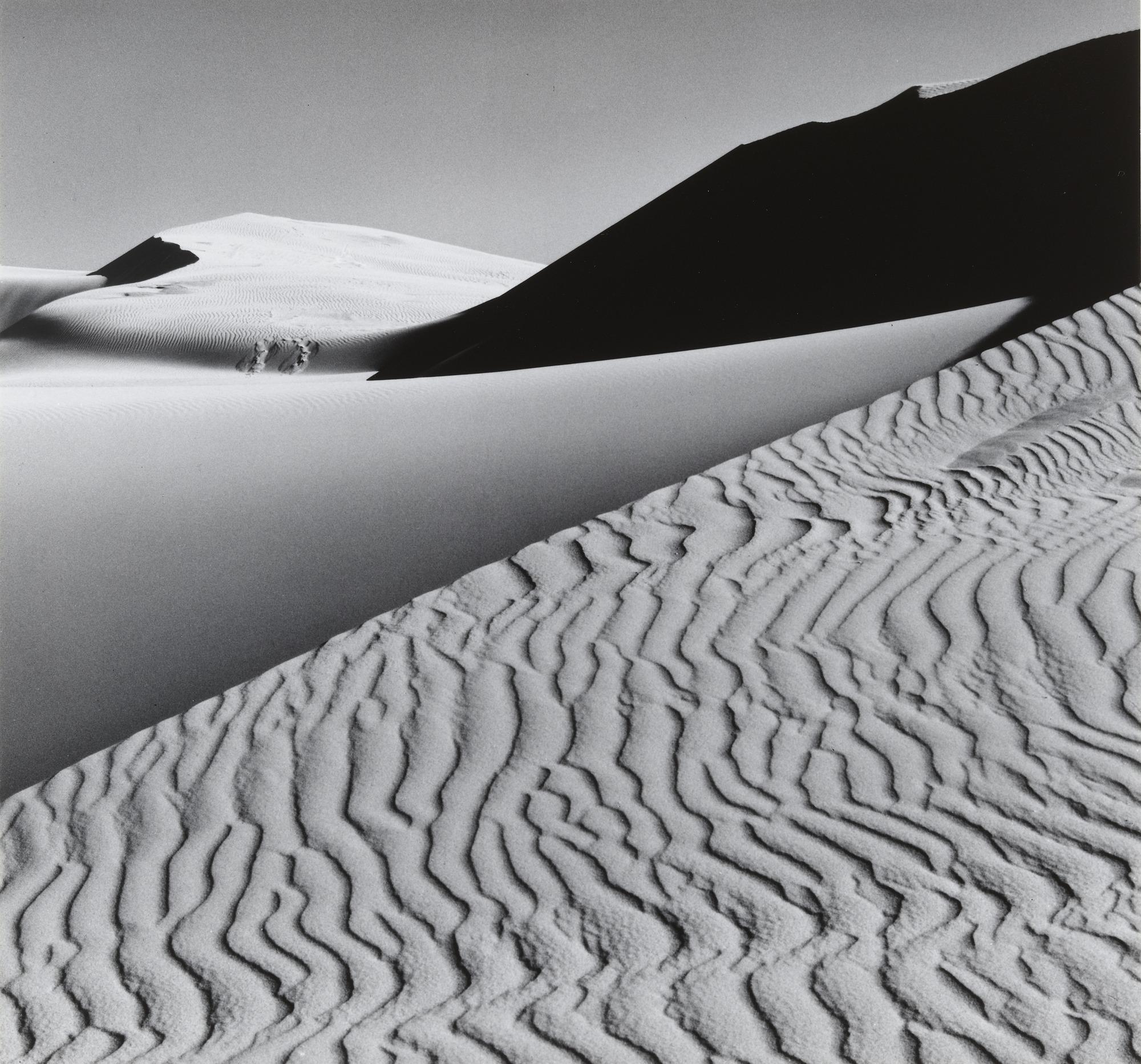 Ansel Adams Dunes Oceano California 1963